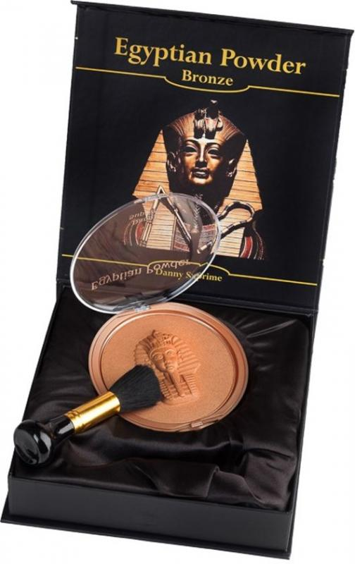 Egyptian Powder púder Luxury set  40g + štetec - egyptská hlinka bronzer