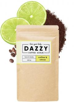 Dazzy Coffee Scrub 200g Citrus