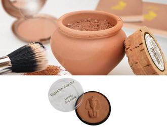 Egyptian-Powder MATT- egyptská hlinka 18 g + Egypt Powder bronz Matt za 7,95 Eur