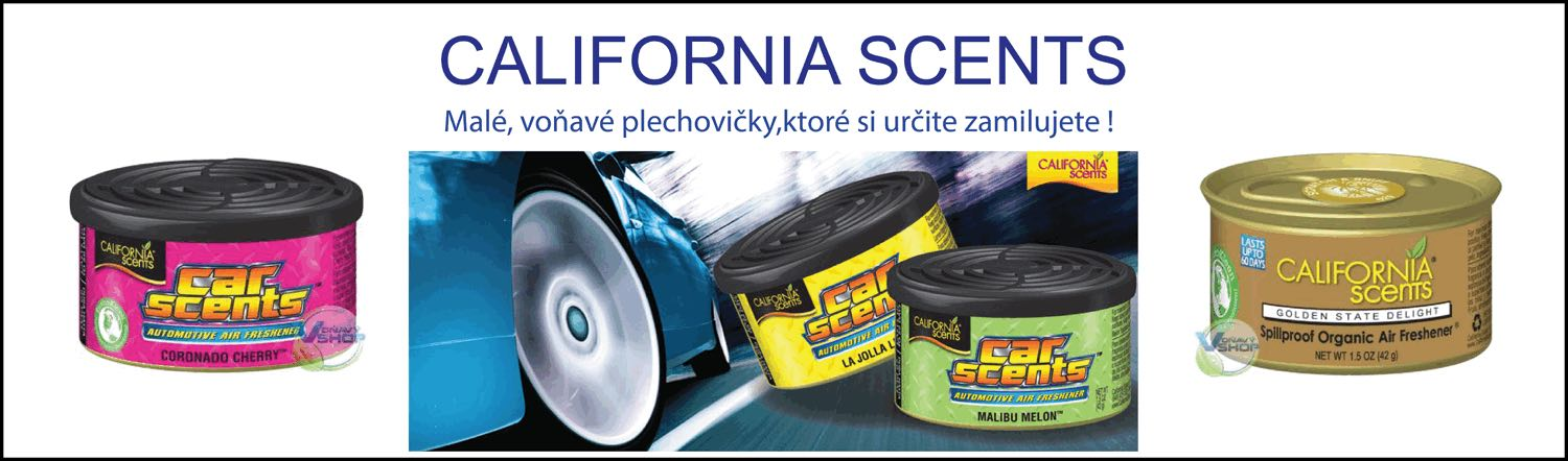 California scents, car scents